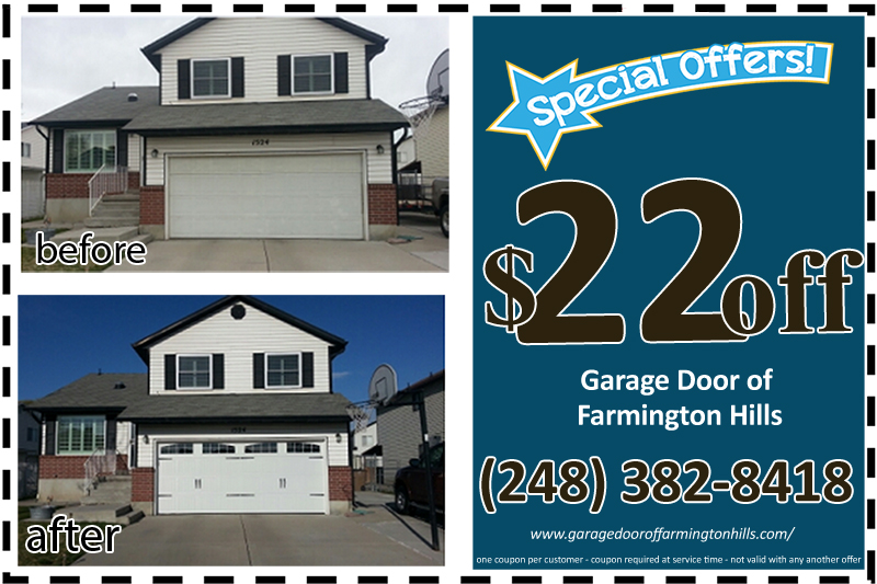 Garage Door Of Farmington Hills Cable And Spring Replacement